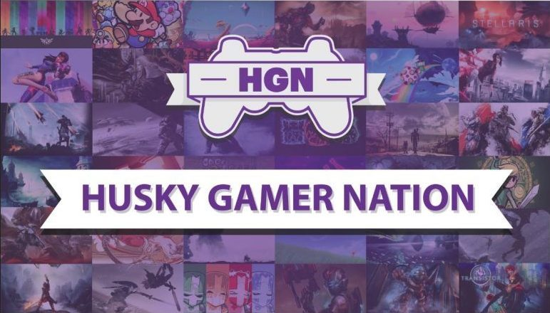 Husky Gamer Nation Logo