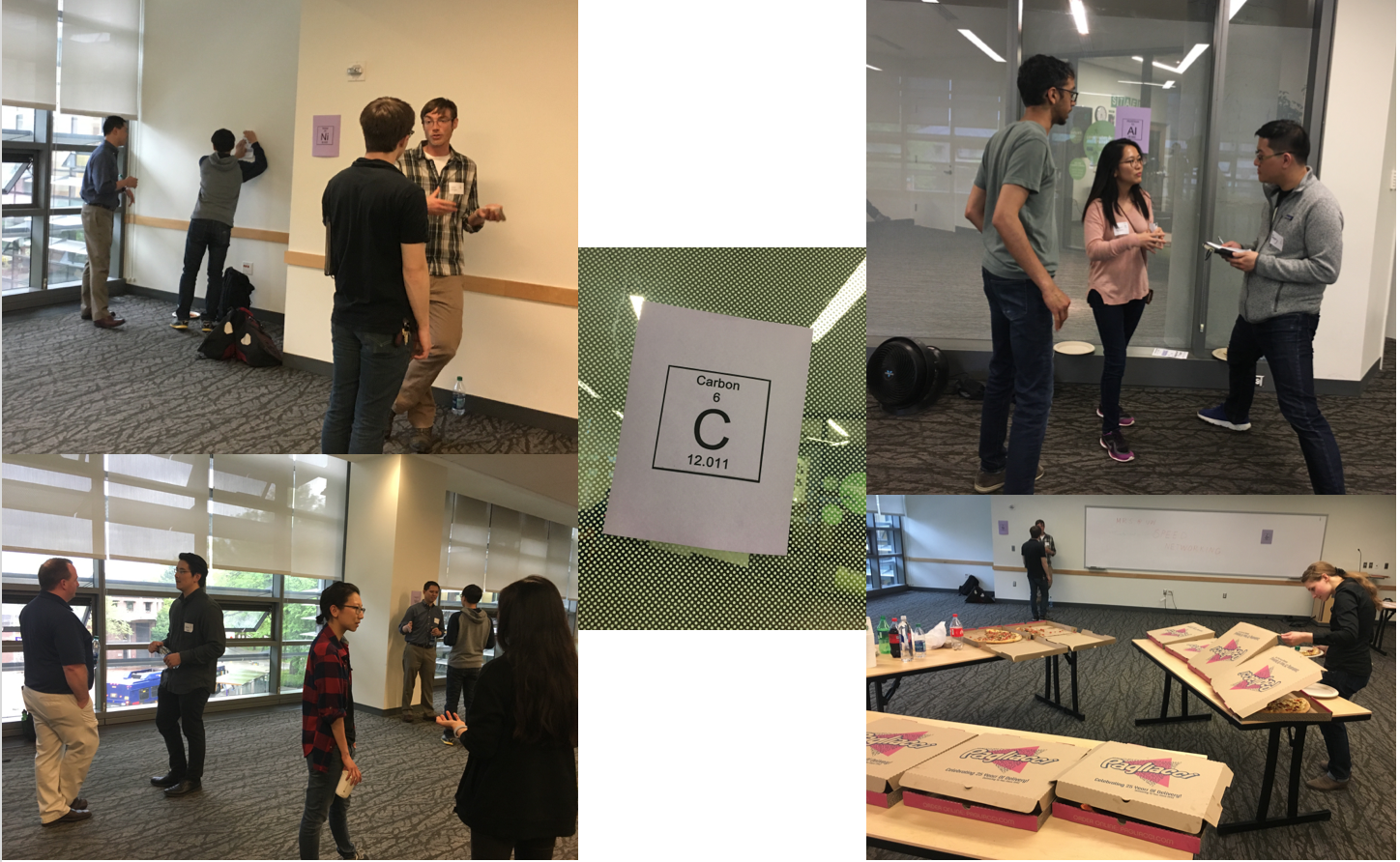 Speed Networking: May 2018 – Materials Research Society UW