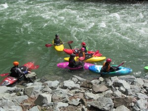 Introduction to Whitewater Kayaking class (10/31-11/2)