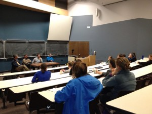 Students attend wilderness physician panel