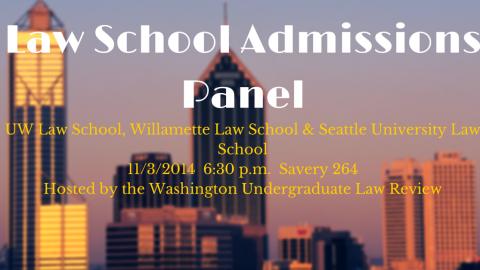 Law School Admissions Panel (4)