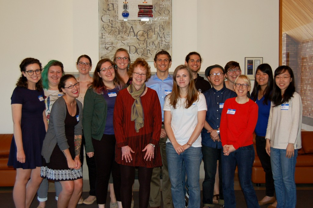 A photo of Betsy Wilson and all attendees to the lunch! (Minus the co-president  who kindly took this photo!)