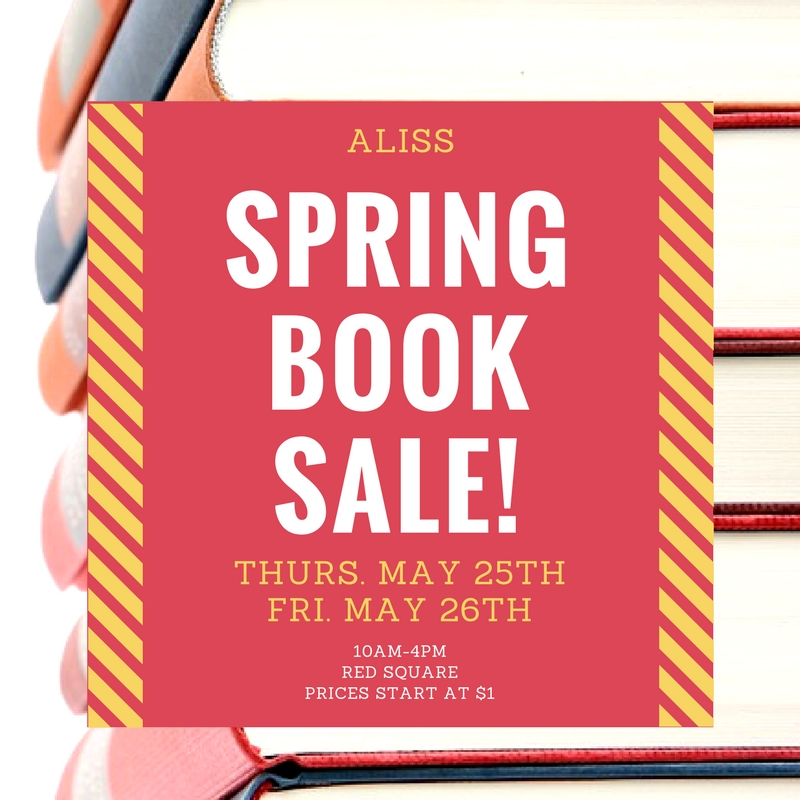 Spring Book Sale FB