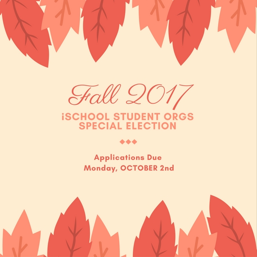 iSchool Student Orgs Special Election